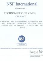 NSF certifikát