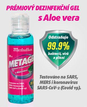 prémiový dezinfekční gel s Aloe vera